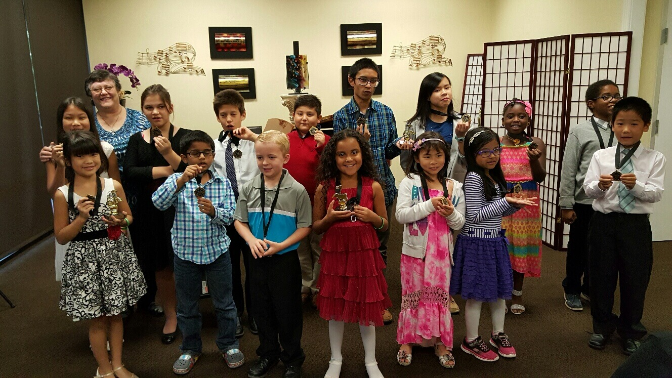More recital students at The Conservatory of Music in Katy, TX