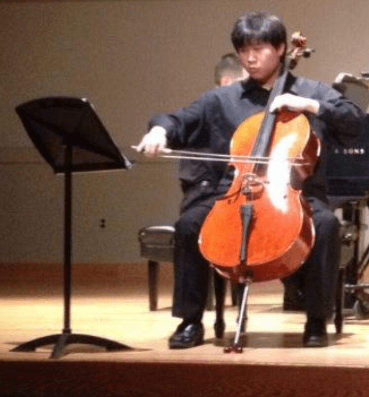 Phillip - cello instructor at The Conservatory of Music